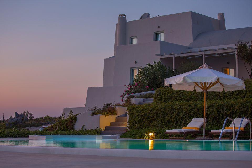 Grece Location Vacances Villa Piscine Santorin