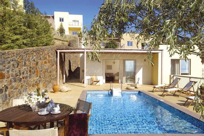 Location de Vacances en Crete, Villa de luxe Crete 2 chambres avec ...