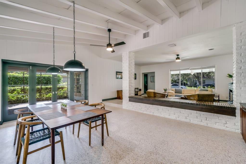 Location villa luxe miami beach directement sur le canal for Location villa miami avec piscine