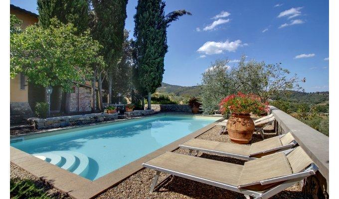 Location Villa De Luxe Avec Piscine Priv E En Toscane Italie