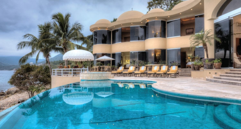 Mexique location vacances villa de luxe puerto vallarta for Location luxe vacances