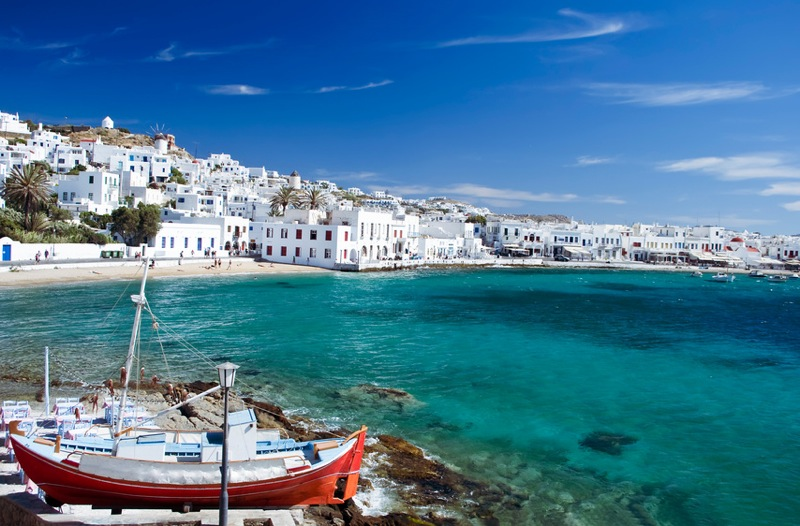 croisiere dans les iles grecques