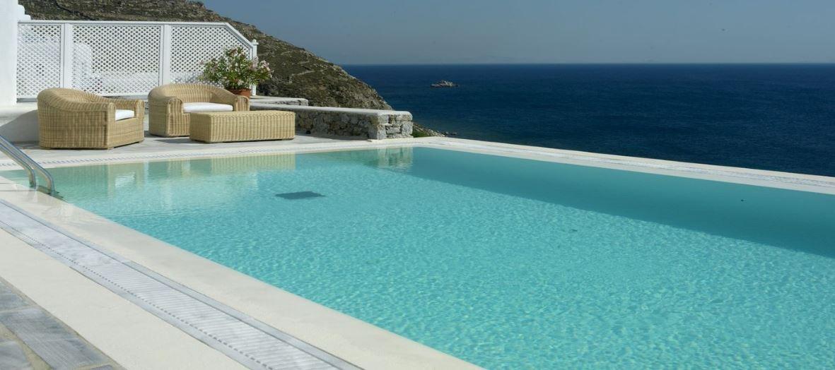 Grece location vacances villa de luxe mykonos - Villa avec piscine privee ...