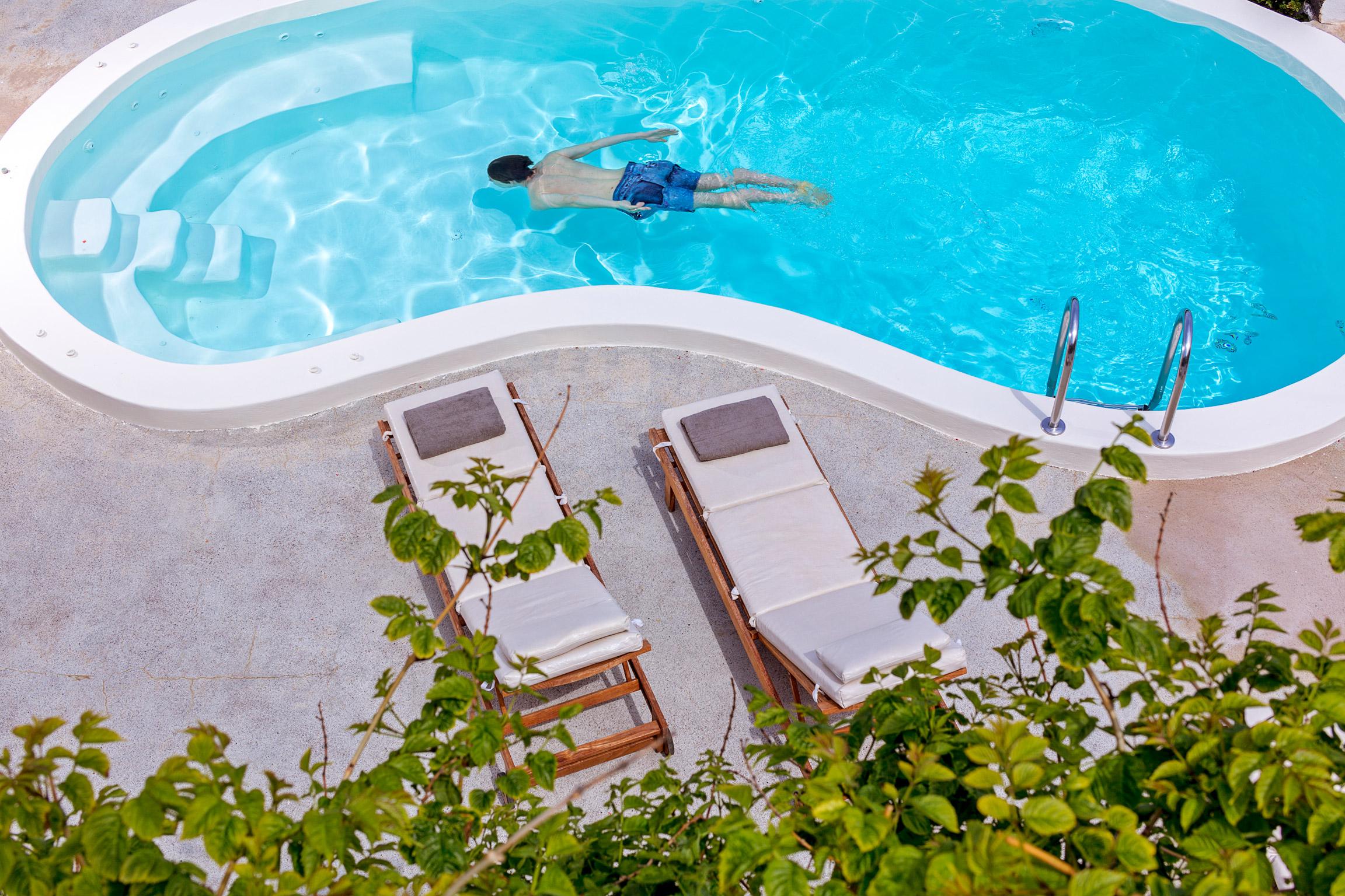 Location maison de vacances typique avec piscine privée