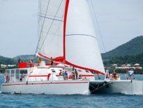 Leeward Islands Catamaran St Barth